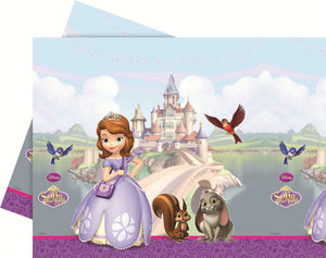Sofia the First Rectangle Plastic Tablecover Party Tableware Birthday Disney