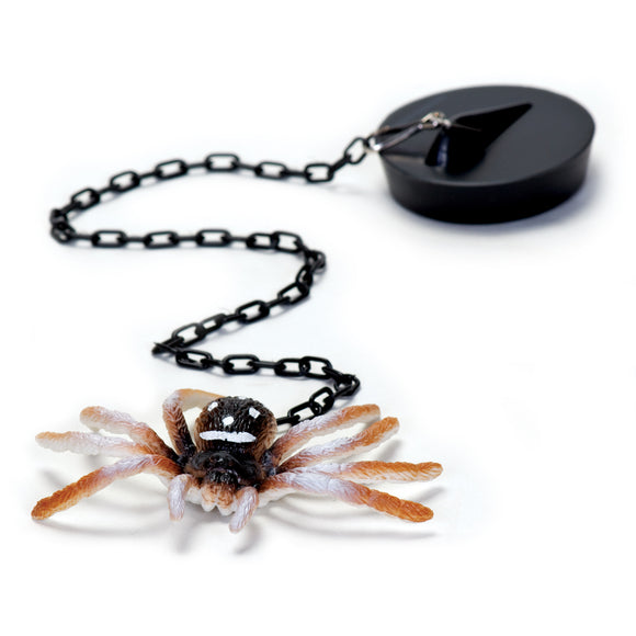 Spider Plug Bath Time Toy and Halloween Joke