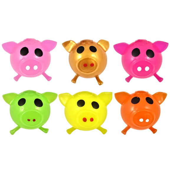 Splat Pig Pocket Money Toy 6 Colours