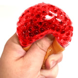 Red Squishy Ice Cream Pocket Money Sensory Toy Party bag Filler Favor