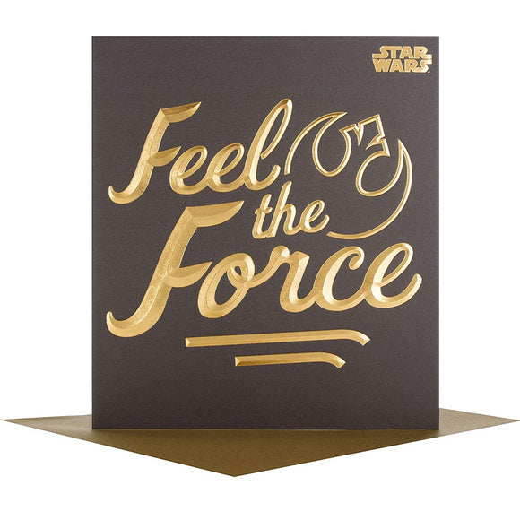 Star Wars Feel the Force all occasions Hallmark greetings card