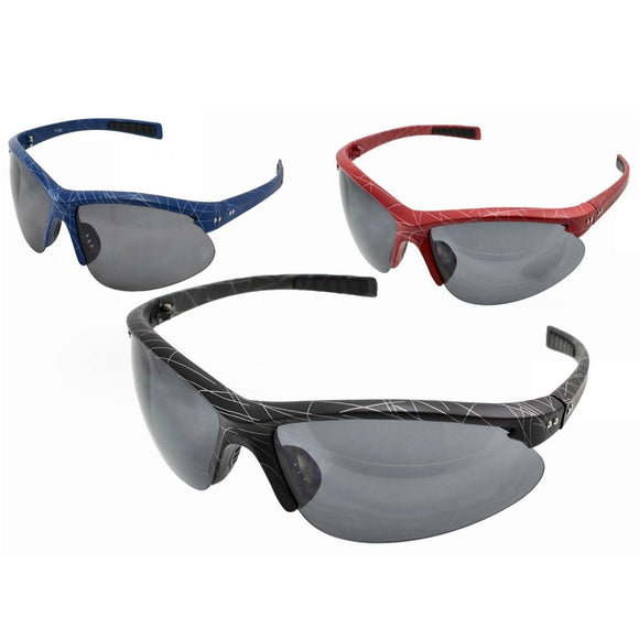 Adults Half Frame Sports Wrap Sunglasses UV400 - Unisex