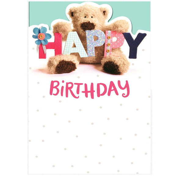 Teddy Bear Happy Birthday Greetings Card by Hallmark