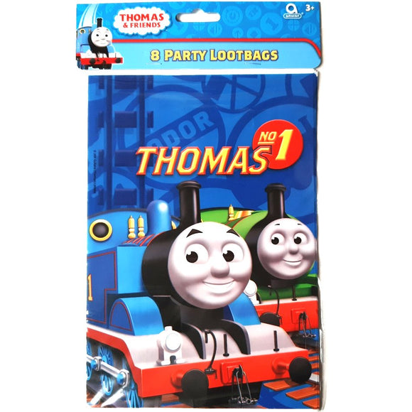 A Pack of 6 Thomas The Tank Engine Party Favor Bags