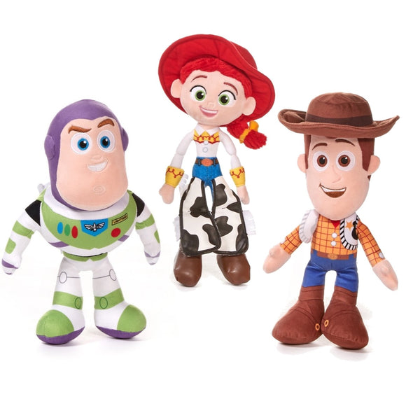 Toy Story 4 Cuddly Soft Toys Jessie Woody or Buzz Lightyear