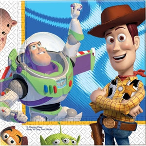 Disney Pixar Toy Story 3 Paper Napkins - Toy Story Party Tableware