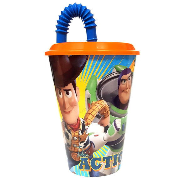 Toy Story 4 Children's Cup With Lid And Straw