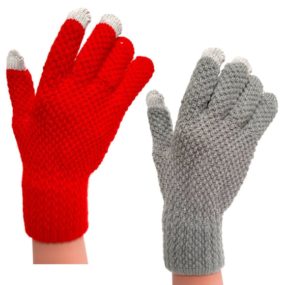Thick Winter Gloves Knitted