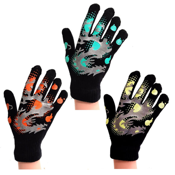 Dragon Childrens Kids Gloves