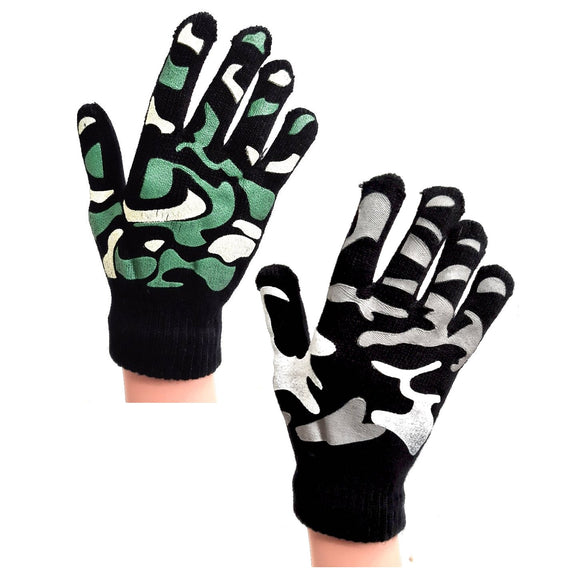 Camouflage Winter Gloves