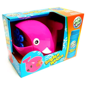 Whale Bubble Machine - Choose Pink or Blue