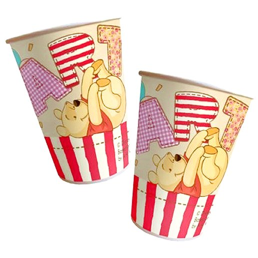 Winnie The Pooh Paper Party Cups