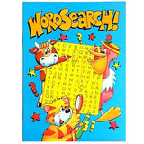 A6 Word Search Activity Book Party Bag Filler Favor