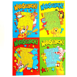 A6 Wordsearch Puzzle Activity Travel Books Party bag Filler Favor