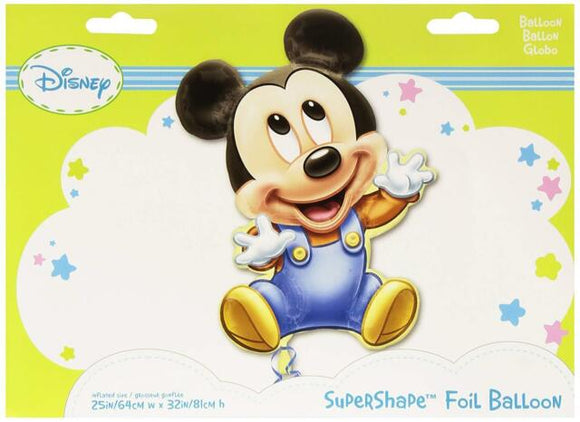 Baby Mickey Mouse Super Shape Foil Balloon