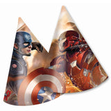 Marvel Captain America Civil War Party Hats