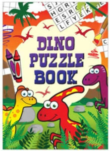 A fun pack of 6 Dinosaur themed puzzle and activities book   This is an A6 size book