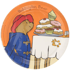 This pack of 8 paper plates is perfect for a Paddington Bear themed party. They measure 22.8cm