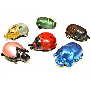 Pull Back and Go Beetle Pocket Money Party Bag Filler Favor Toys