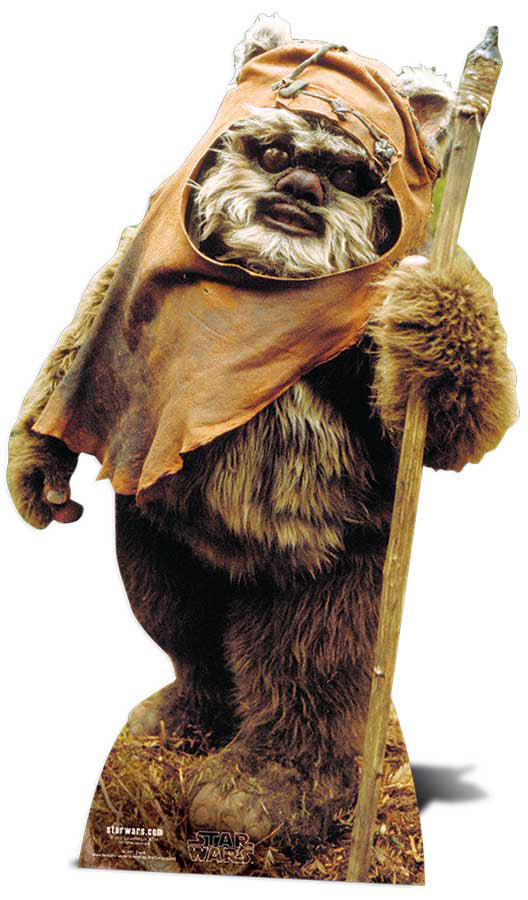 Wicket (Ewok) Star Wars Lifesize Cutout
