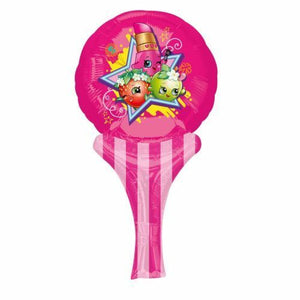 A Pack of 10 Shopkins Inflate a Fun Balloon party Favours   Great Party bag Fillers  Only Requires Air