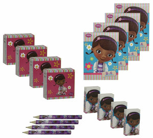 Disney Doc McStuffins Stationary Pack - Party Bag Favours for 8 People