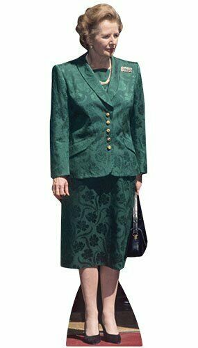 Mrs Margaret Thatcher Prime Minister Lifesize Cutout