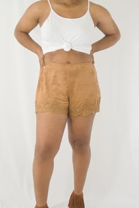 Suede Babe Shorts