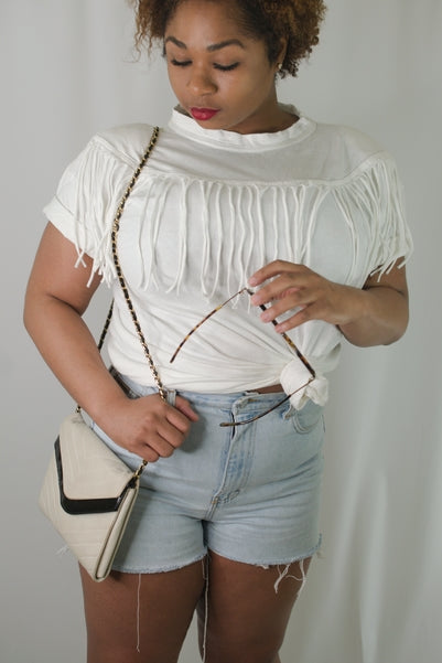 Chained Up Sling Purse