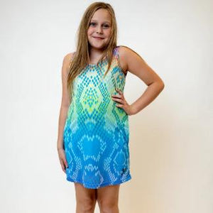 Eastern Indigo Snake Rainbow tank dress