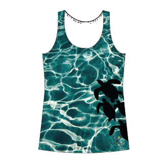 LIMITED EDITION- Sea Turtle tank top