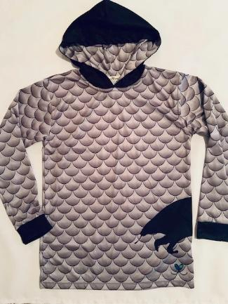 Pangolin All Natural long sleeve hooded shirt