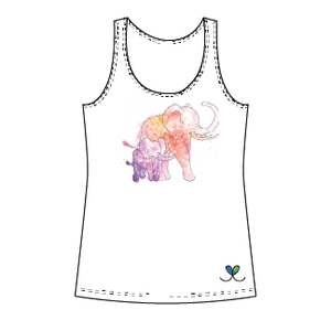 LIMITED EDITION- Elephant Kids tank top