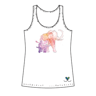 LIMITED EDITION- Elephant Womens Tank Top