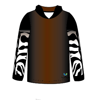 LIMITED EDITION-  Okapi Long sleeve hooded shirt