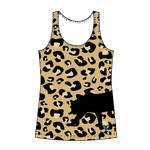 Amur Leopard All Natural tank top