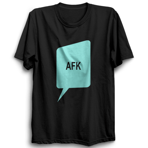 Image of AFK -Half Sleeve Black