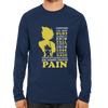 Image of Are Learned Through Pain -Full Sleeve Navy Blue