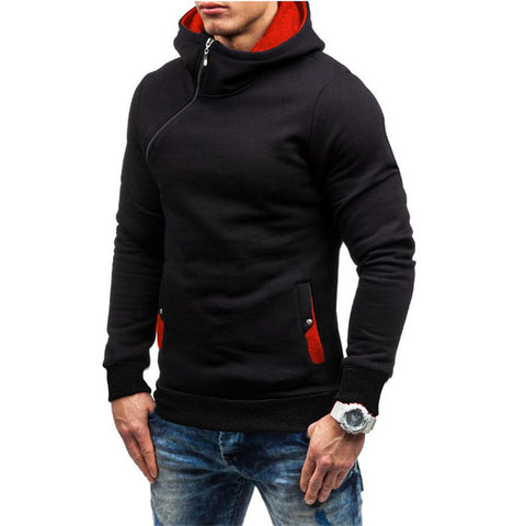 Image of Assassin's Creed New Hip Hop Zipper Black Hoodie