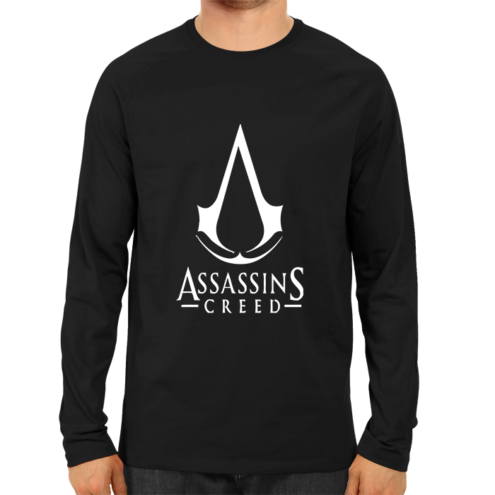 Assassin's Creed Logo Full Sleeve Black