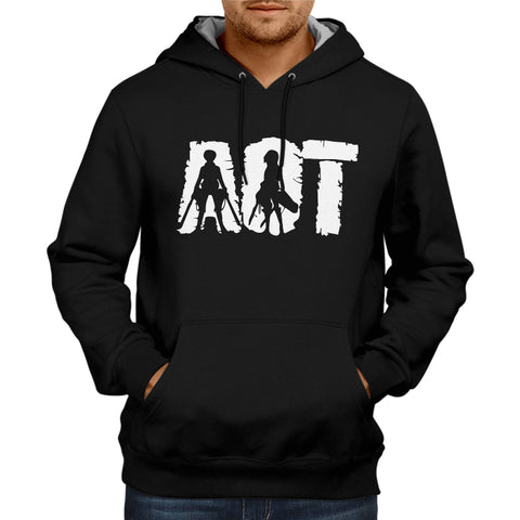 Image of Attack On Titan Hoodie Black