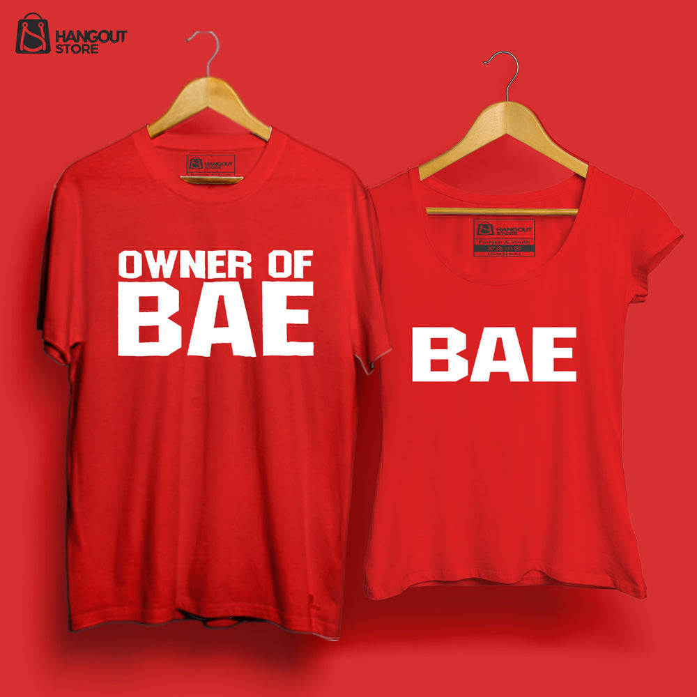 BAE, owner of BAE - Half sleeve Red