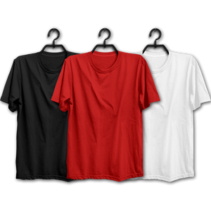 BRW Combo Half Sleeve Tshirts(Pack of 3)