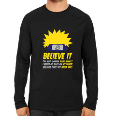 Believe It Full Sleeve Black