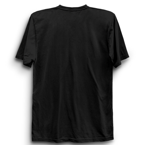 Image of Basic Plain Black Half Sleeve