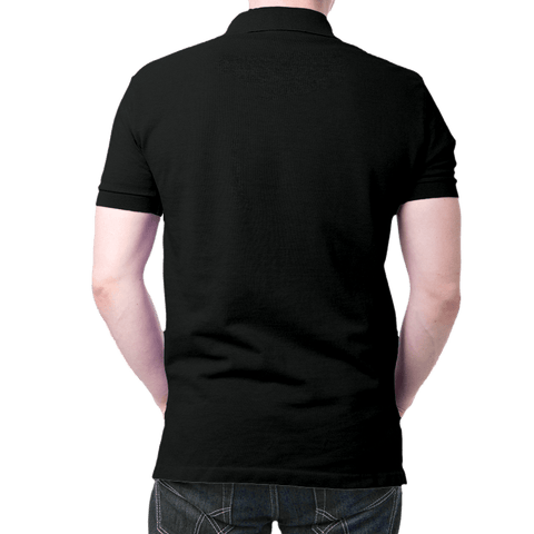 Germany Logo- Polo T-shirt Black