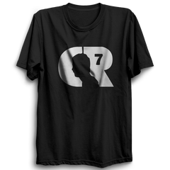 CR7 -Half Sleeve Black