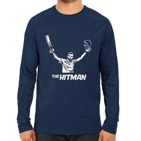 Image of CRIC 34- The Hitman Full Sleeve Navy Blue