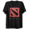 Image of Dota Logo Half Sleeve Black