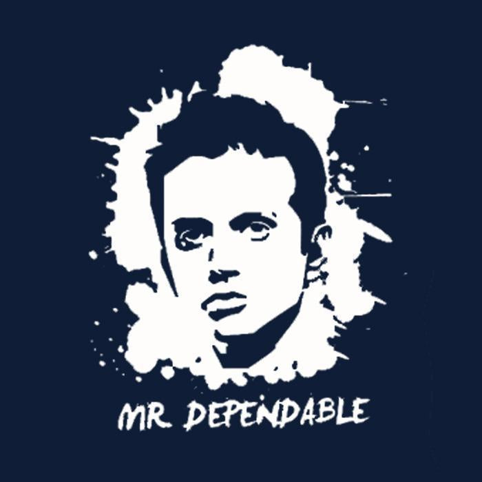 CRIC 11- Dravid Mr.Dependable -Hoodie-Navy Blue